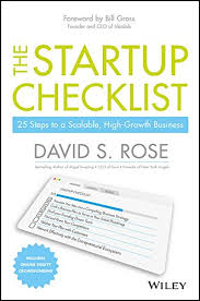 New Business Startup Checklist Amazon Com The Startup Checklist 25 Steps To A Scalable High