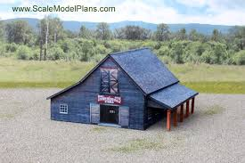 n scale scratchbuilt structure ho scale cardstock structure