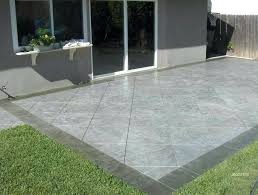 concrete patio ideas concrete stamped patio ideas backyard stamped concrete patio ideas mje