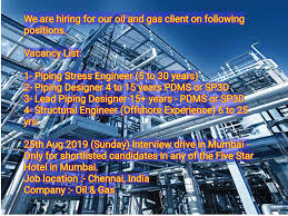 Pdms Piping Designer Piping Engineer Structural Engineer Oil And Gas Industry