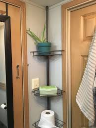 Bathroom Trailers Beauteous Shower Shelf Extra Storage Idea For Bathroom Organization In Campers