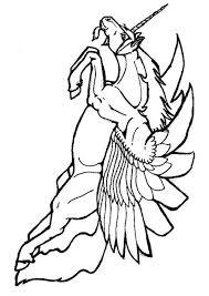 Vliegende Eenhoorn Kleurplaat Kleurplaat Vliegende Eenhoorn Afb 7131