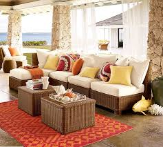 pottery barn patio furniture. view in gallery palmettoallweatherwickersectionalbypotterybarn pottery barn patio furniture c