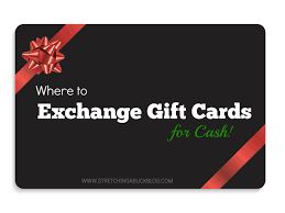 where to exchange gift cards for cash