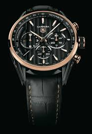 tag heuer debuts carrera calibre 1969 watch black and gold tag heuer has just released the first watch to contain its new in house made calibre 1969 automatic chronograph movement it is the limited edition tag