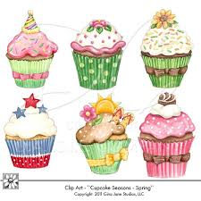 New Christmas Art by Shelly Comiskey! 15% OFF All Wendi Blair- Hurry! |  Cupcake drawing, Summer cupcakes, Cupcake art