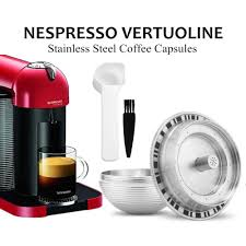 Big Refillable Coffee Filters For Nespresso Vertuoline Gca1