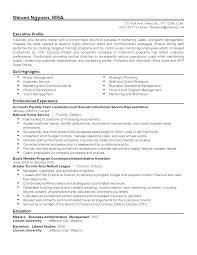 Financial Service Representative Resume Objective Luxury Customer