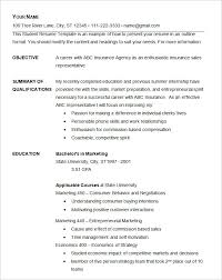 Easy Resume Template Free Professional Resume Templates
