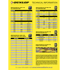 Dunlop Motorcycle Tire Size Chart Dunlop Motorcycle Tire Pressure Chart Disrespect1st Com