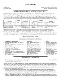 Sports Management Resume Samples Best of Gallery Of Professional Business Development Resumes Writing Resume