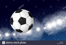 4 Pics 1 Word Lights Soccer Ball With Blue Flame Flash Ball Stock Photos Flash Ball Stock Images Alamy