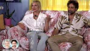 Antonella Elia e Pietro Delle Piane insieme: il gelo della donna