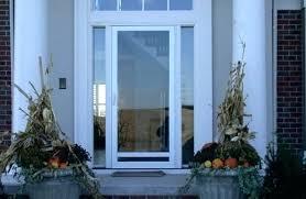 pella storm door all glass storm door close up of home with storm door replacement