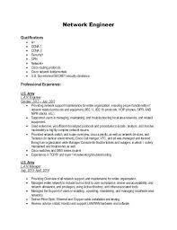 Entry Level Network Engineer Resume Sample Sample Networking Resume Resume Tutorial Pro