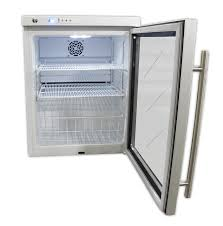 compact glass door vaccine refrigerator
