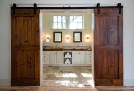 frÄg view in gallery gorgeous reclaimed fir barn doors for the posh master bathroom design bonin architects
