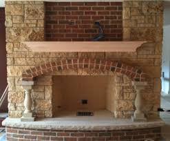 Brick & Stone Fireplace Gallery
