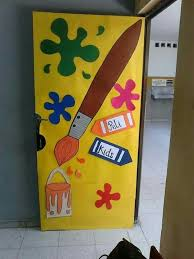 Pin by Ashley Ledet on Rincones Educativos | School door decorations, Art  room doors, Art classroom
