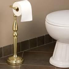Toilet Roll Holder Magazine Rack Bathroom Stand Alone Toilet Paper Holder Svardbrogard Com Free 89