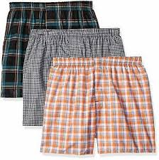 Details About Hanes Ultimate Mens 3 Pack Hanging Boxer Waterfall Package Choose Sz Color