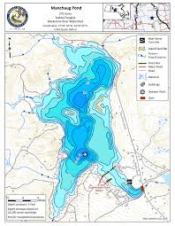 Neponset Reservoir Depth Chart Survey Provides New Map Of Manchaug Pond Manchaug Pond