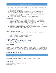 Create Curriculum Vitae Enchanting R Parivallal Cv