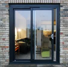 powder coated aluminium sliding patio doors 2 panel aluminium sliding doors