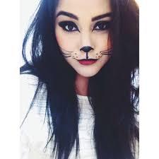 cat makeup costume mais