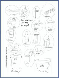 Recycling Worksheets For Kindergarten All Download Free 2nd Grade ...