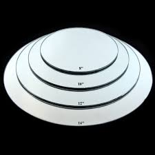 round centerpiece mirrors