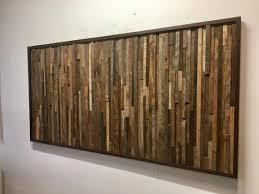 reclaimed barn wood wall art vertical