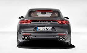 2017 Porsche Panamera Turbo Rear Fascia Photo On Automoblog Net Porsche Panamera Porsche Porsche Panamera Turbo