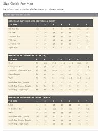 Ted Baker Swim Size Chart Ted Baker Size Guide