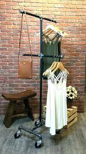 vintage clothing rack industrial antique wooden clothes dryer old fashioned