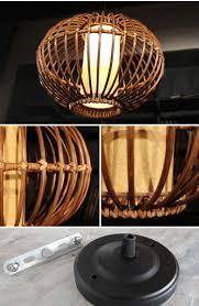 rattan pendant lighting. Wicker Pendant Lighting. Modern 14\\ Lighting N Rattan