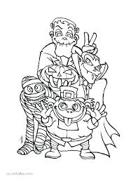 Halloween Coloring Pages Simple Coloring Pages Coloring Pages