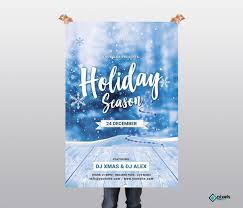 Holiday Season Free Psd Flyer Template Free Psd Flyer