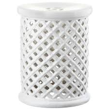 patio stool: isola white patio stool  b c aee cdcfaf