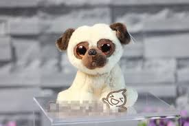 cute original big eyes pug dog soft stuff plush toy doll children birthday gift gift in stuffed plush s from toys hobbies on
