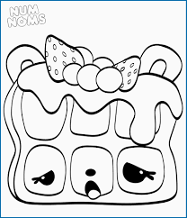 Nom Noms Coloring Pages Elegant 20 Free Printable Num Noms Coloring