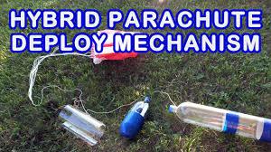 Best Parachute Design For Bottle Rocket Water Bottle Rocket Hybrid Parachute Deploy Mechanism Tutorial
