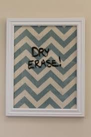 Framed Dry Erase Board Best 25 Erase Board Ideas On Pinterest Picture Frame Crafts
