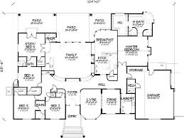 House Plans With 6 Bedrooms Five Bedroom Ranch House Plans 5 Bedroom House  Floor Plans Best