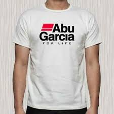 Details About New Abu Garcia For Life Fishing Company Logo Mens White T Shirt Size S To 3xl