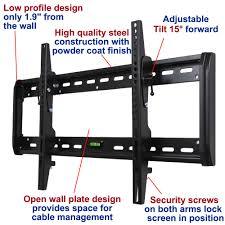 secu tilt tv wall mount bracket for 32 70 led lcd plasma sharp lc 42lb150u lc 50lb370u lc 60ue30u lc 70eq30u m33 com