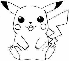 Pikachu Kleurplaten Hard Kleurplaat Tv Series Kleurplaat Pokemon