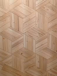 wood effect hexagons