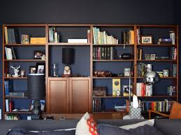 the ikea billy bookcase gets a stunning library makeover noznoznoz