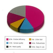 farrowing chart n line q pigs livestock corporation